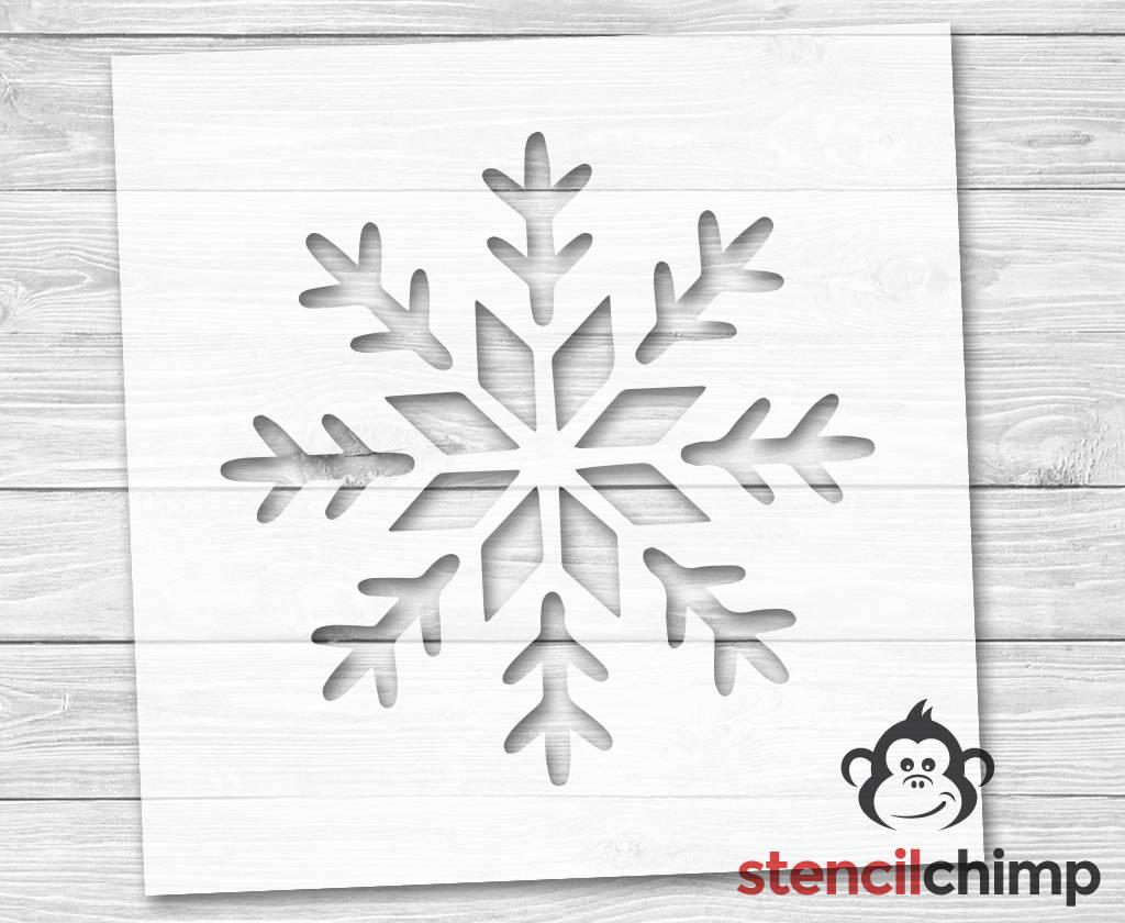 Snow Flake Stencil | Christmas Stencil | Winter Stencil | Holiday | Let it  Snow | Winter Wonderland | DIY Art Stencil
