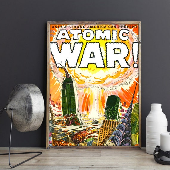 "Make Love not war atomic bomb photography poster 24x36/"""