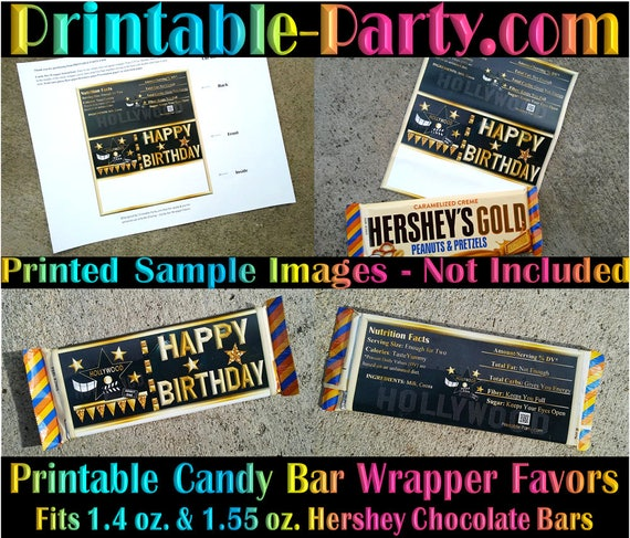 Back to School Chocolate Candy bar Label Digital Printed Back To School Candy Bar Wrapper Custom Candy Bar