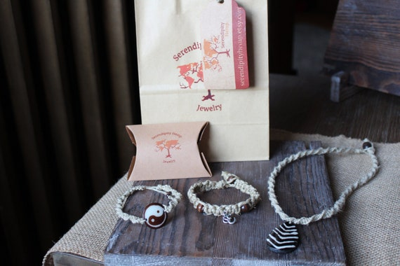 Jewelry Bundle Hemp Collection Packaging Included