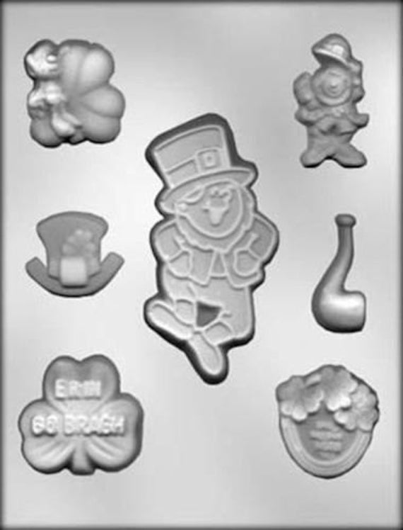 Cybrtrayd C013 Christmas Chocolate Candy Making Mold Joy Assortment