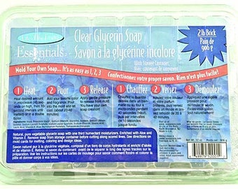 Life of the Party 4 LB Clear Glycerin Melt and Pour Soap Base