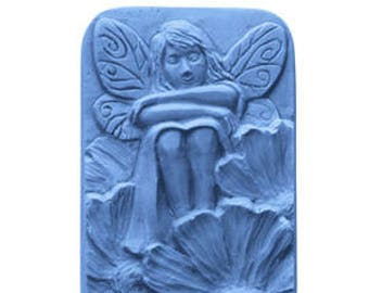 Fairy Soap Mold Makes (3) 4 oz. Bars Milky Way. For Melt & Pour and Cold Process Soaps MW207