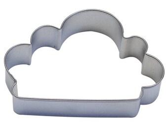 """Cloud Cookie Cutter Sky Cookie Cutter Rain Cookie Cutter 4"""" RM-869"""