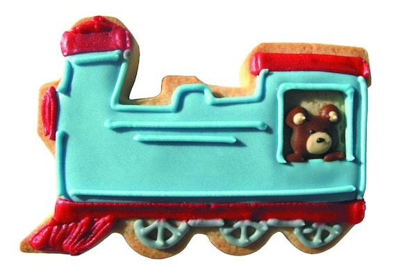 train cookie cutter locomotive cookie cutter boys cookie etsy