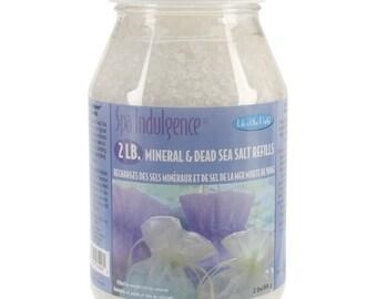 Mineral and Dead Sea Bath Salt Refills, 2 lb