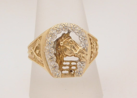 bague homme fer a cheval