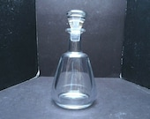 Baccarat quot Perfection quot Handcrafted Whiskey Decanter made in France Liquor 9.75 quot
