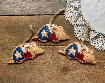 Reserved for Tammy   3 Tiny Texas Armadillos