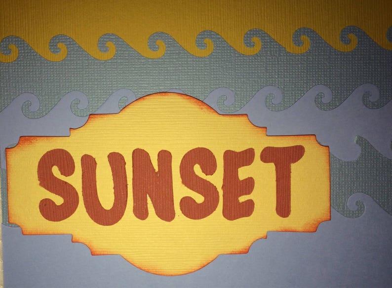 Beautiful Sunset Layout