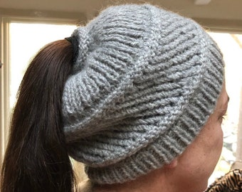 034e05a89c522 Ponytail Hat---Made to Order