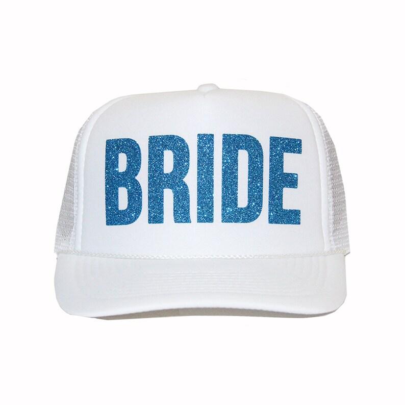 162800e5ae8fb Gorras de camionero novia sombrero del camionero de oro
