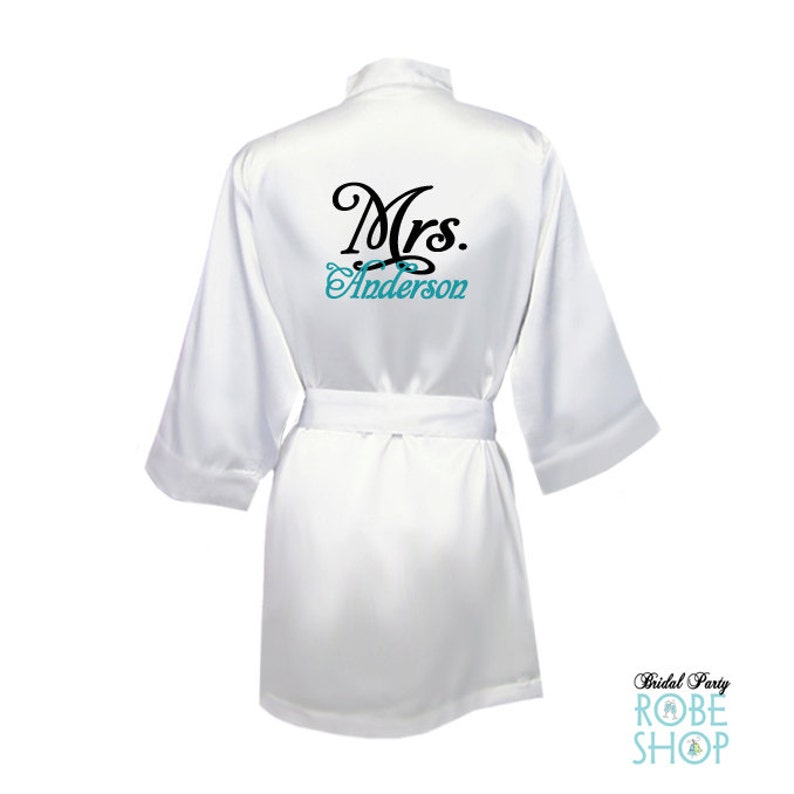 089951ca7d Mrs. Robe Bride Robe Bride to Be Robe Personalized wedding