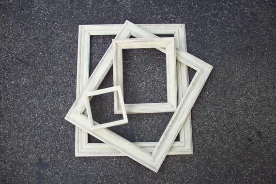 Cuadro blanco Marcos Vintage abren mano de la galería de marco de ...