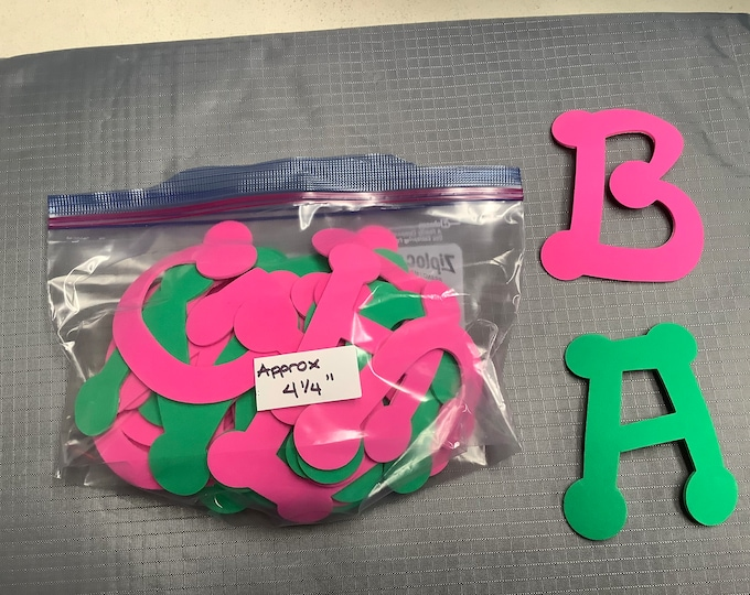Huge LOT of adhesive foam letters, flowers, felt letters & numbers and non-adhesive shapes.  FREE SHIPPING