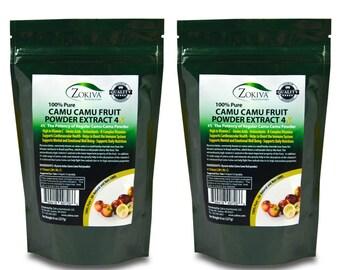 Camu Camu Fruit Powder Extract 4:1 100% Pure Immune Booster High in Vitamin C 1LB