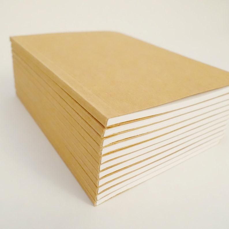 882ef31a8708 Bulk Plain Notebooks Handmade Tiny Pocket Large Journals