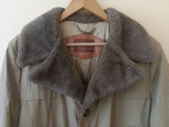 Woolrich Trench Coat Vintage Woolrich Winter Coat