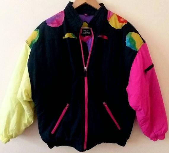 Andy Johns Ski Jacket Retro Andy Johns Jacket Neon
