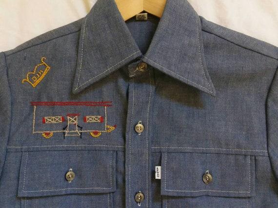 Vintage Levis Panatela Shirt Levis Denim Shirt Rar