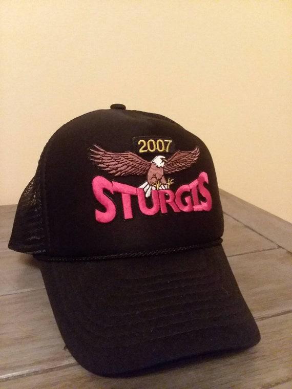 2007 Sturgis Hat Sturgis Bike Rally Hat Eagle Truc