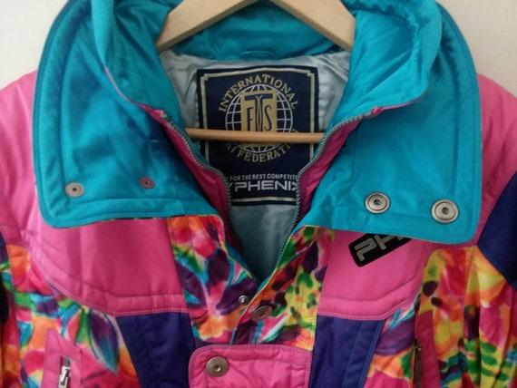 Vintage Phenix Ski Jacket Retro Ski Wear Women's S