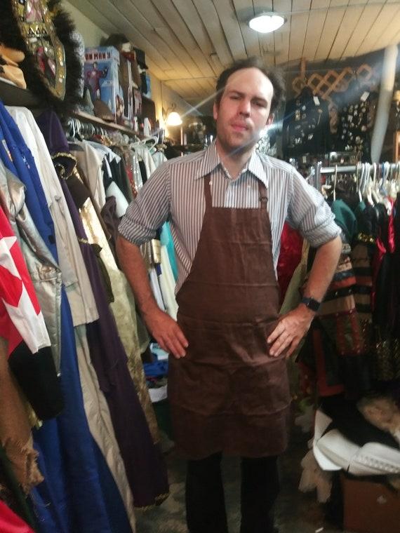 Coco movie Brown shoe maker apron