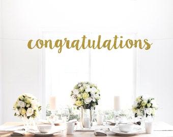 congratulations sign etsy