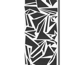 The Shadow - yoga mat bridesmaids gift idea for a health nut health and well being fitness mat geometric print