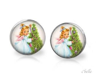 Earrings Happy Christmas-15