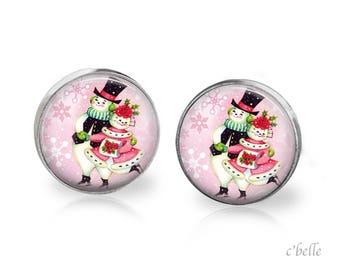 Earrings Happy Christmas-7