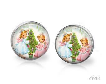 Earrings Happy Christmas-2