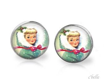 Earrings Happy Christmas-17