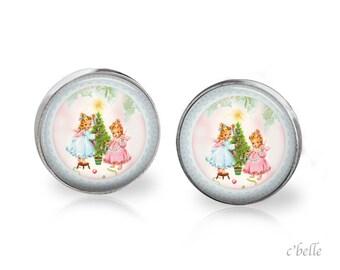 Earrings Happy Christmas-33