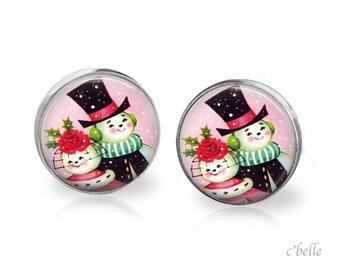 Earrings Happy Christmas-38