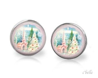 Earrings Happy Christmas-25