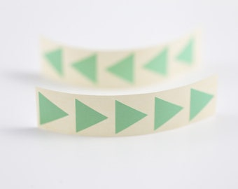 20 Aufkleber Dreieck - mint