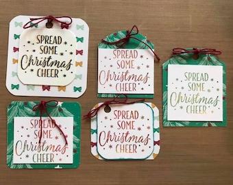 Christmas Cheer Gift Tags