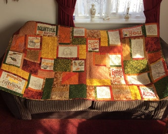 Gorgeous Hand Crafted Quilt