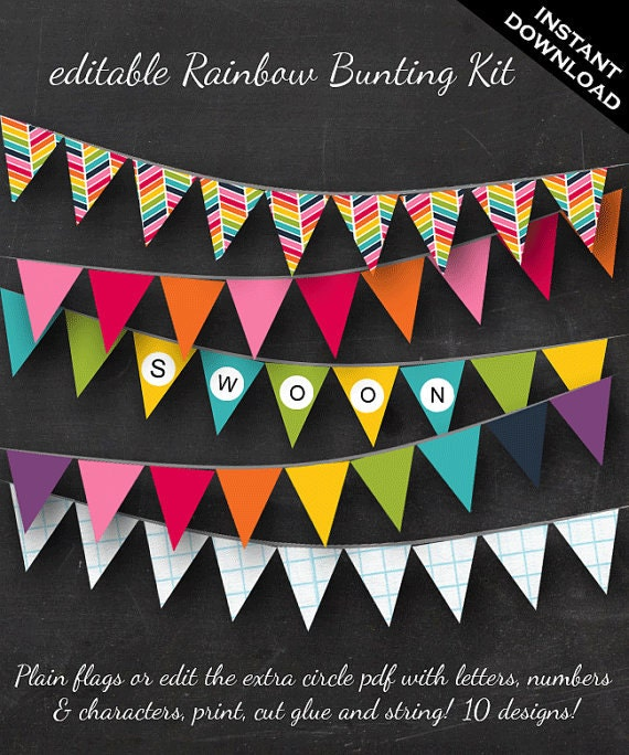 Card Paper Bunting Banner Sign Thank You for Wedding Party Useful and Practical