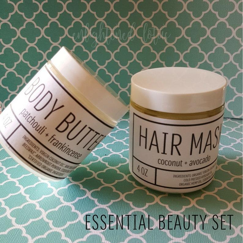 Essential Beauty Gift Set Organic Spa Gift Set image 0