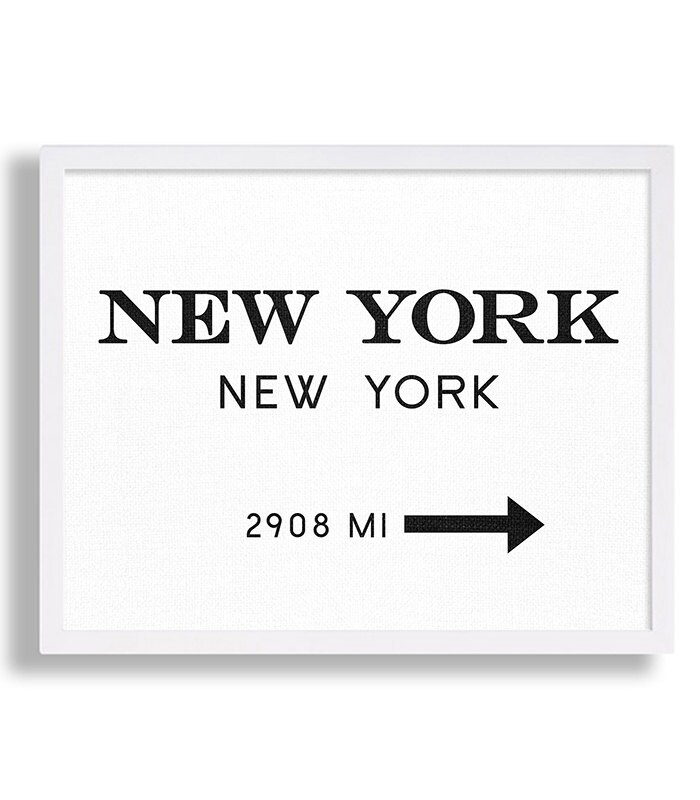 New york city print typography art print gift for him fashion etsy zoom reheart Gallery