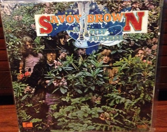 Savoy Brown - A Step Further, Blues Record, Blues Music, Musician Gift, Music Lover, Vintage Blues Music, Blues Vinyl Records, Blues Vinyl