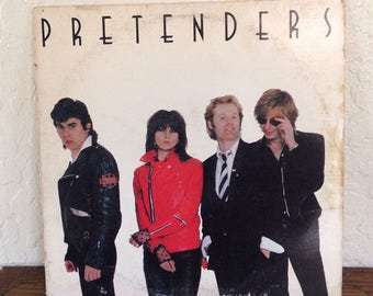The Pretenders - Self Titled 80s Vintage Vinyl Record Album LP, Vinyl Record Album, LP Records, Pop Rock, Punk Rock, New Wave, Chrissie Hynd