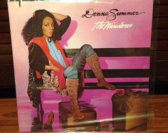 Donna Summer - The Wanderer, Vintage Vinyl Record, Disco, Rock, Vinyl Records Sale, Pop Rock, 80s Music, Vintage Albums LPs