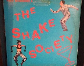 "Fred Schneider & The Shake Society - Self Titled 12"" Vintage Vinyl Record Album LP 1984, 80s Vintage New Wave Vinyl Record Album LP, 80s"