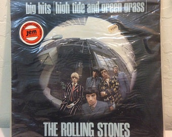 The Rolling Stones - Big hits, high tide and green grass, 12 inch Vinyl Record, 33 RPM Album LP, Sealed Import The Rolling Stones Record