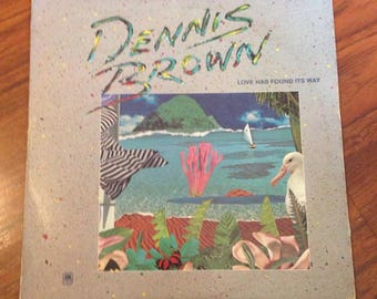 Dennis Brown - Love Has Found Its Way, Vinyl Record, Vinyl Records Sale, Reggae, Dub, Dancehall, 80s