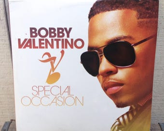 Bobby Valentino - Special Occasion Featuring Timbaland Ludacris Fabolous Vinyl Record Album LP, R&B Hip Hop Vinyl Record, Early 2000s Vinyl