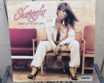 Shareefa - Point of No Return Featuring Ludacris, 90s R and B, 90s Hip Hop, Vinyl Record, LP Records, Vinyl Records Sale, R&B